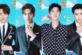 The debate over masculinity in China was sparked by an appearance on television of New F4, (from left) Guan Hong, Wu Xize, Liang Jingkang and Wang Heli. Photo: Weibo