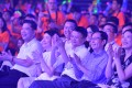 Senior executives of the Alibaba Partnership at a philanthropy event on September 10, 2018, including group Secretary-General Shao Xiaofeng (first left), Wholesale Marketplace President Trudy Dai (second left), Executive Chairman Jack Ma (centre), Chief Executive Officer Daniel Zhang (second right), Chief People Officer Judy Tong (first right). Photo: SCMP/Alibaba Handout