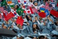 """US presidential hopeful Andrew Yang said he would """"staple a green card to the diploma of any international student who graduates from an American university"""". Photo: Xinhua"""