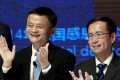 Alibaba, which is steadily expanding its reach beyond China as part of a global expansion, will access Mail.ru's large audience through two of the country's most popular social networks. This week Jack Ma (left) said he would step down and be replaced by Daniel Zhang (right) in a year's time as executive chairman. Photo: Reuters