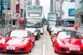 In a city with 93 US dollar billionaires and a million US dollar millionaires, are Ferraris still status symbols? Some 39 were registered in 2017 alone. Photo: Alamy