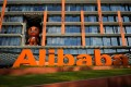 The logo of Alibaba Group is seen at the company's headquarters in Hangzhou, China. Photo: Reuters