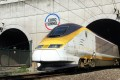 File photo of a Eurostar train emerging from the Eurotunnel in Coquelles, northern France. Photo: AFP