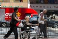 Hong Kong's population is set to age rapidly in the coming 30 years. Photo: EPA
