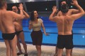 Swimming with Men is a mid-life crisis drama about men who form a synchronised swimming team.