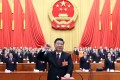 """Chinese President Xi Jinping has put himself at the centre of the party since taking power in 2012, designating himself as its """"core"""" and heading dozens of policy committees. Photo: AP"""