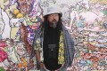 """Japanese contemporary artist Takashi Murakami's new exhibition """"Change the Rule!"""" is at the Gagosian Hong Kong art gallery in Central. Photo: Jonathan Wong"""