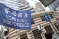 Police recommended in July that the Hong Kong National Party be outlawed for posing an 'imminent threat to national security'. Photo: EPA