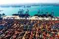 Containers sit in Qingdao, Shandong province, China. Donald Trump has taken the trade war with China to a whole new level, with additional tariffs on US$200 billion in Chinese goods. Photo: Xinhua