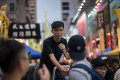 Joshua Wong co-founded Hong Kong Civil Hub. Photo: EPA