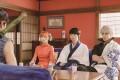 (From left) Yuya Yagira, Kanna Hashimoto, Masaki Suda and Shun Oguri in a scene from Gintama 2: Rules Are Made to Be Broken (category IIB, Japanese), directed by Yuichi Fukuda. Photo: Matsuki