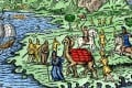 A Middle-Ages depiction of the Silk Road. Picture: Alamy