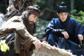 Kim Myung-min and Choi Woo-sik in a still from Monstrum (category IIB, Korean), directed by Huh Jong-ho.
