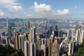 The Central skyline from The Peak on Hong Kong Island. Photo: AFP