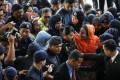 Rosmah Mansor arrives at Kuala Lumpur High Court. Photo: AP