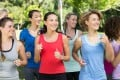 Exercising with others has many benefits over working out solo. If you want to lose weight or get fit, you should work out with like-minded people. Photo: Alamy