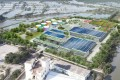 An artist's impression of what the new site at the Yuen Long plant will look like. Photo: Handout