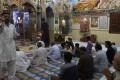 Pakistani Hindus pray at the Hindu Shri Krishna Temple in Mithi, some 320km from Karachi. Photo: AFP