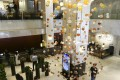 The lobby of the Excelsior Hotel in Causeway Bay, which is closing after nearly 45 years in business. Photo: Dickson Lee