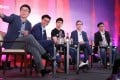 From left: Moderator Chua Kong Ho, Tech Editor of the South China Morning Post; Hian Goh of Open Space Ventures; Quek Siu Rui of Carousell; Alan Hellawell of Sea; and Ku Kay-Mok of Gobi Partners. Photo: K.Y. Cheng