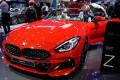 A BMW Z4 on display at last week's Paris auto show. Photo: Reuters