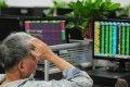 A global sell-off led to China's stock market falling to a four-year low this week. Photo: AFP