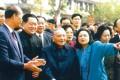 Deng Xiaoping in Shenzhen in 1992. Photo: AP