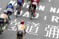 Riders competing in the Hong Kong Cyclothon on Salisbury Road in Tsim Sha Tsui. Photo: K.Y. Cheng