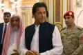 Pakistani Prime Minister Imran Khan during a visit to Saudi Arabia. Photo: AP
