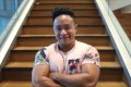 Gender-queer bodybuilder Law Siu-fung. Photo: Winson Wong