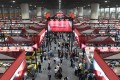 The China Import and Export Fair, a twice-yearly event, opened on Monday. Photo: Xinhua