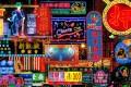 "Keith Macgregor's photo ""Mong Kok street Neon Fantasy"". Photo: Keith Macgregor"