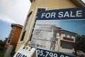 US housing sales have fallen to the slowest pace in six years. Photo: AFP