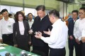 Chinese President Xi Jinping visits Gree Electric Appliances in Zhuhai on Monday. Photo: Xinhua