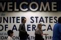 International passengers arrive at Washington Dulles International Airport. Photo: Reuters
