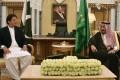 Pakistan's Prime Minister Imran Khan and Saudi King Salman in Riyadh. Photo: AFP