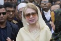A newspaper editor tied to the Bangladeshi opposition, whose leader Khaleda Zia (pictured) is in jail, has been arrested on defamation charges. Photo: AP