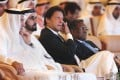 Pakistani Prime Minister Imran Khan alongside United Arab Emirates Prime Minister Sheikh Mohammad bin Rashed. Photo: AP