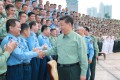 Chinese President Xi Jinping told officers from the Southern Theatre Command on Thursday they must be ready to handle any military emergency. Photo: Xinhua