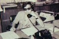 The late crime writer Tommy Lewis in the office of the South China Morning Post, circa 1970. The telephone was seen as 'the greatest tool of the reporter's trade' in those days. Photo: SCMP