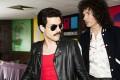 Rami Malek (left) as Freddie Mercury in Bohemian Rhapsody.