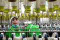 Chinese factory activity slowed in October as the country struggles to maintain economic momentum in the face of US tariffs and a weakening yuan. Photo: AFP