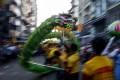 A street procession in Yangon, Myanmar. Photo: EPA