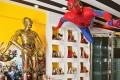 Eriko Yagi's life-size C3P-O and Spider-man figures. Photo: Yukie Miyazaki