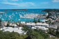 File photo of the bay of Noumea, the capital of New Caledonia. Photo: AP