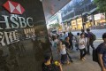 HSBC is one of Hong Kong's biggest financial services employers. Photo: EPA
