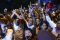 Supporters of Sri Lanka's ousted prime minister Ranil Wickremesinghe celebrate the court's decision. Photo: AFP