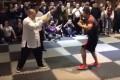 A screenshot of China MMA fighter Xu Xiaodong taking on tai chi master Wei Lei. Photos: Handout