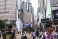 Retail rents on Russell Street, Causeway Bay, were the highest in the world in the second quarter, according to a Cushman & Wakefield report. Photo: Rachel Cheung/SCMP