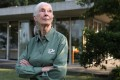 Dr Jane Goodall, 84, renowned British primatologist and founder of the Jane Goodall Institute, at Kadoorie Farm and Botanic Garden in Tai Po. Photo: Nora Tam